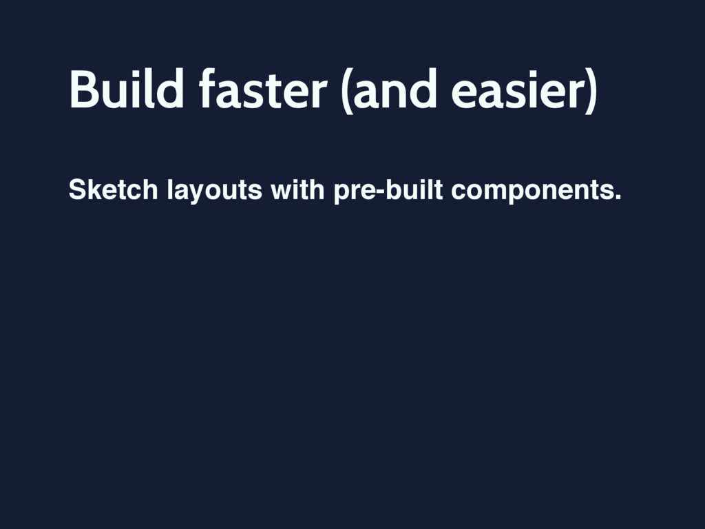Build faster (and easier) Sketch layouts with p...
