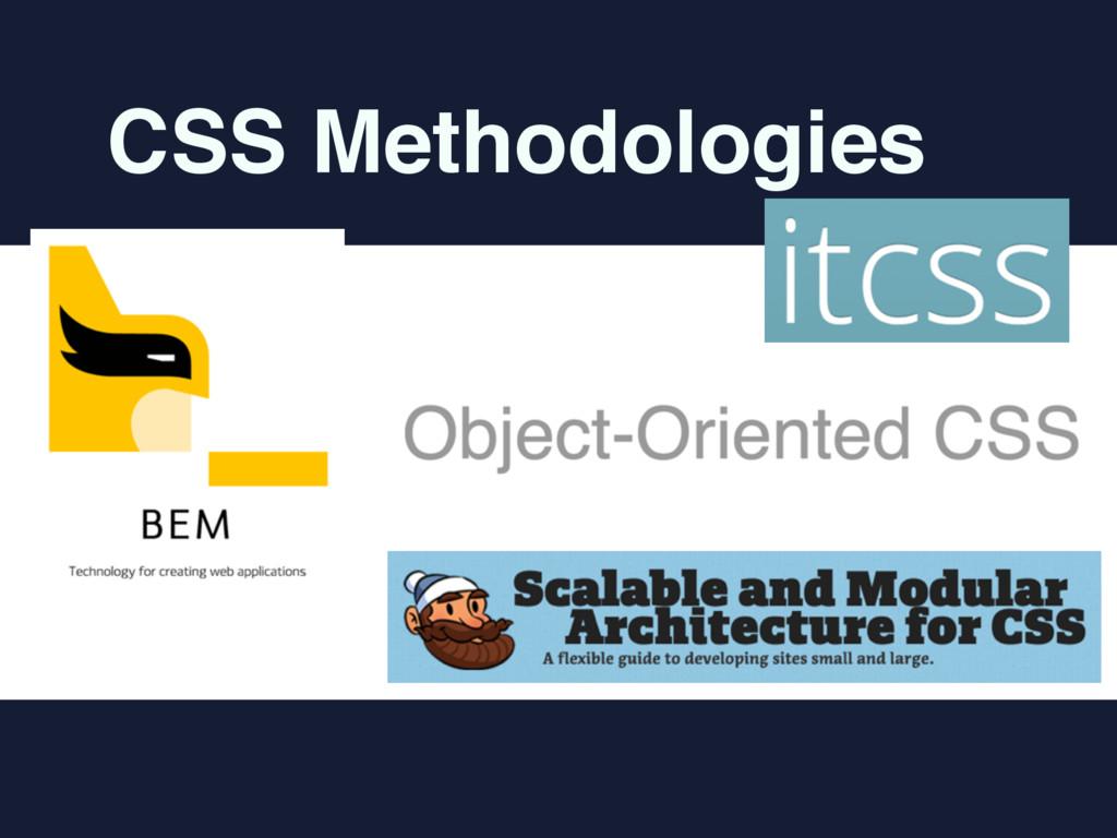 CSS Methodologies