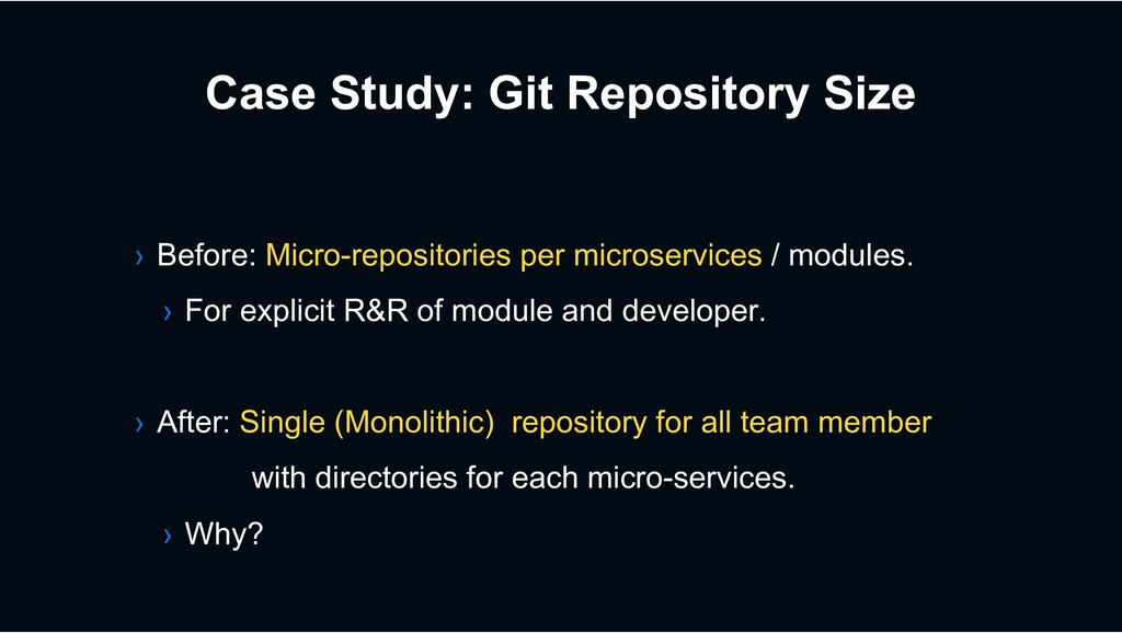 Case Study: Git Repository Size › Before: Micro...