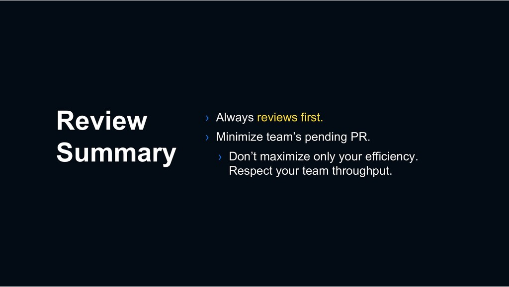 Review Summary › Always reviews first. › Minimi...