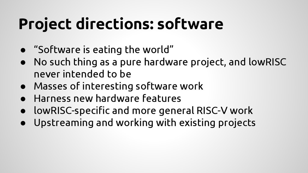 """● """"Software is eating the world"""" ● No such thin..."""