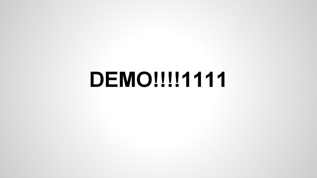 DEMO!!!!1111