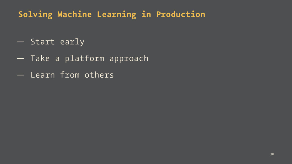 Solving Machine Learning in Production — Start ...