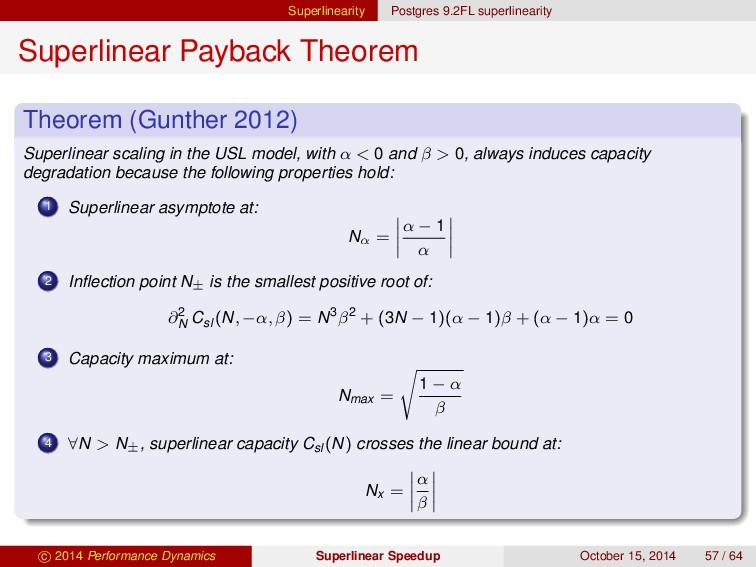 Superlinearity Postgres 9.2FL superlinearity Su...