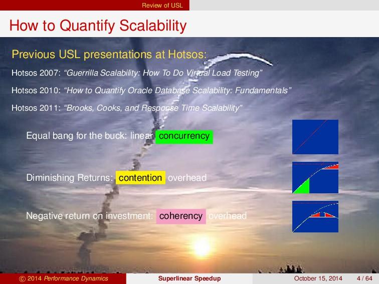 Review of USL How to Quantify Scalability Previ...