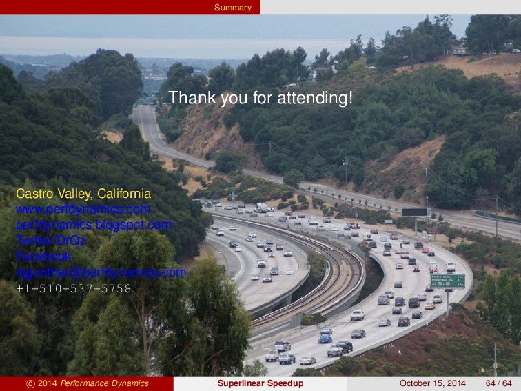 Summary Thank you for attending! Castro Valley,...