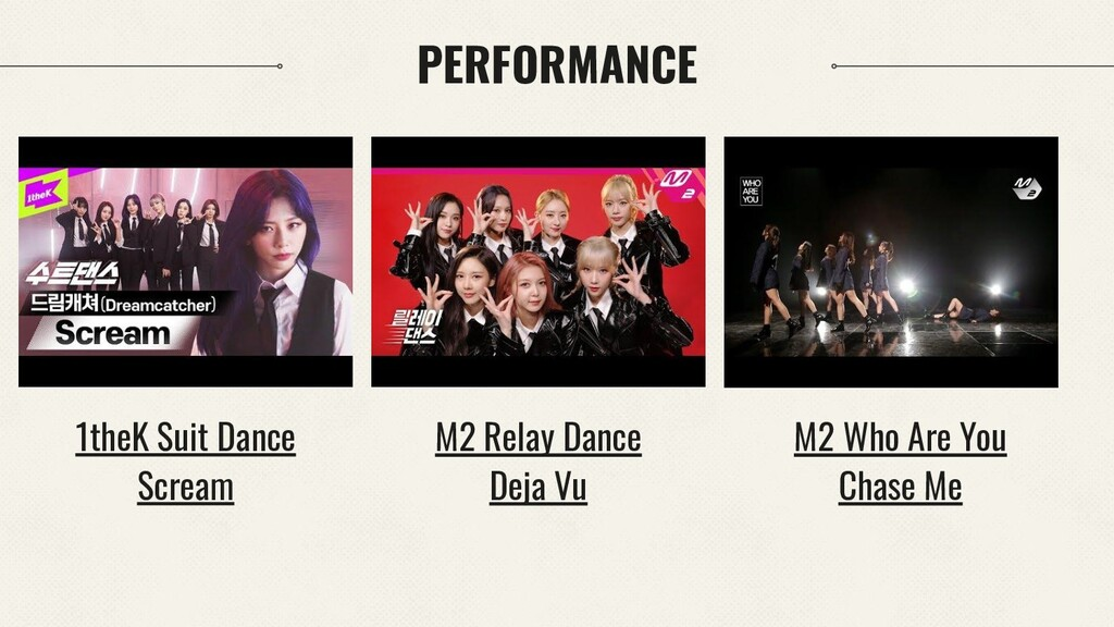 PERFORMANCE M2 Who Are You Chase Me 1theK Suit ...