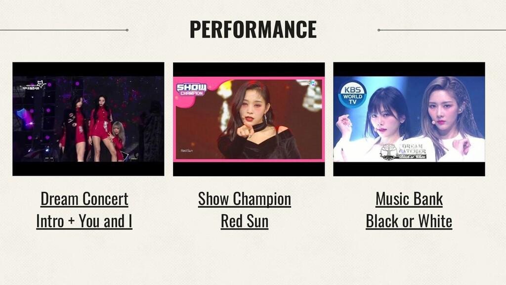 PERFORMANCE Music Bank Black or White Dream Con...