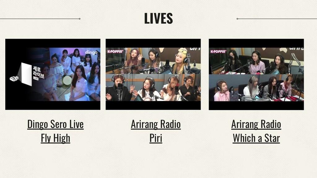 LIVES Arirang Radio Piri Dingo Sero Live Fly Hi...
