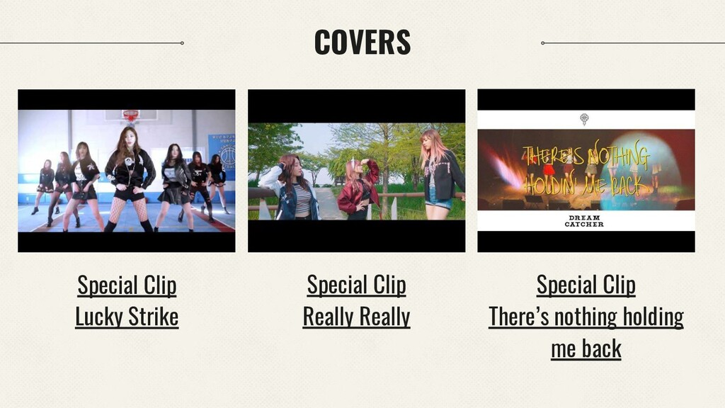 COVERS Special Clip Really Really Special Clip ...