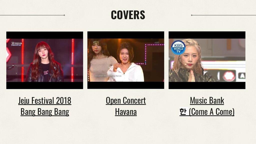 COVERS Open Concert Havana Jeju Festival 2018 B...