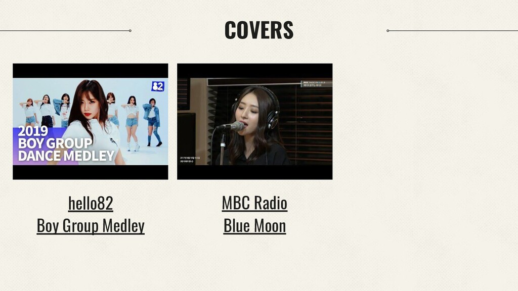 COVERS hello82 Boy Group Medley MBC Radio Blue ...