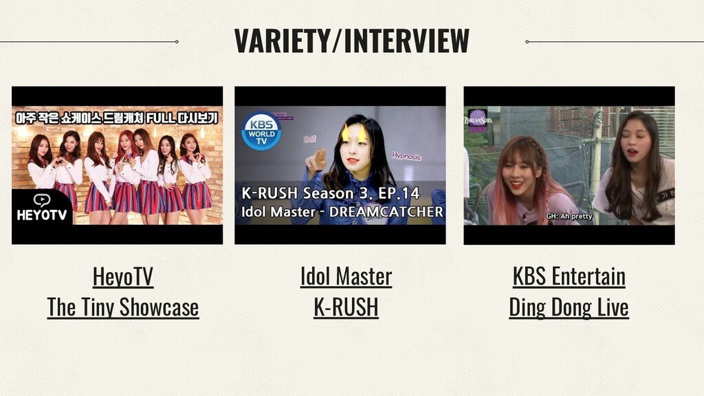 Idol Master K-RUSH HeyoTV The Tiny Showcase KBS...