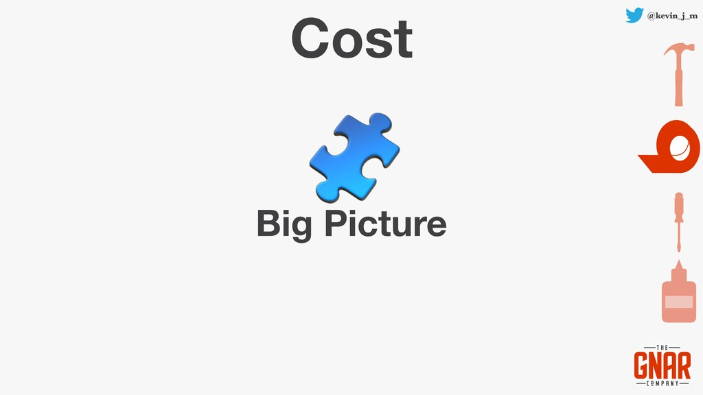 @kevin_j_m Cost Big Picture