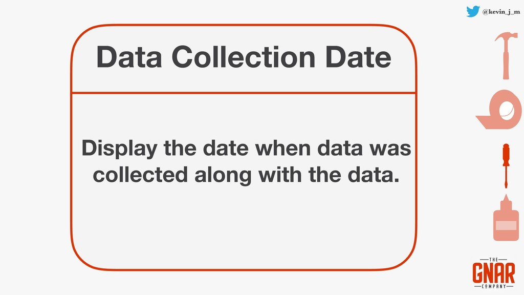 @kevin_j_m Data Collection Date Display the dat...