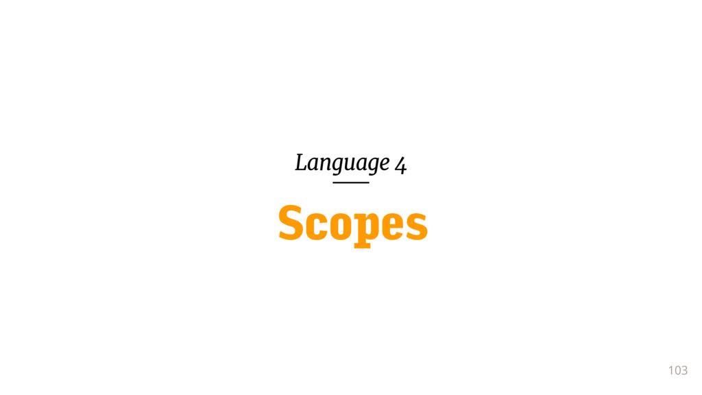 Language 4 103 Scopes