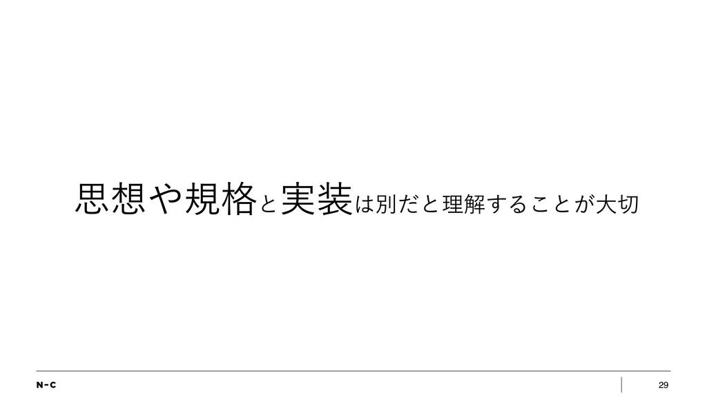 29 ࢥن֨ͱ ࣮ผͩͱཧղ͢Δ͜ͱ͕େ