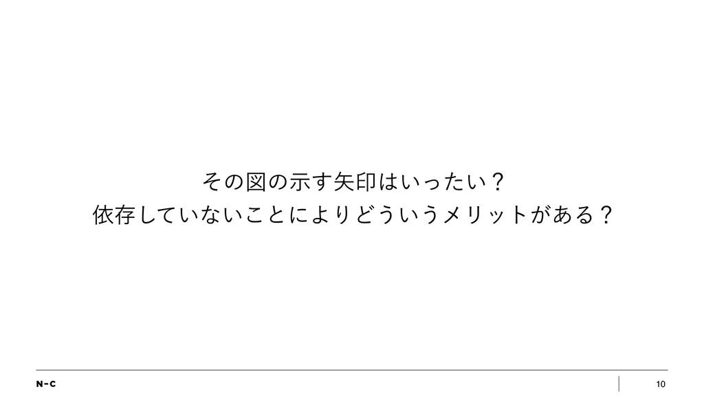 10 ͦͷਤͷࣔ͢ҹ͍͍ͬͨʁ ґଘ͍ͯ͠ͳ͍͜ͱʹΑΓͲ͏͍͏ϝϦοτ͕͋Δʁ