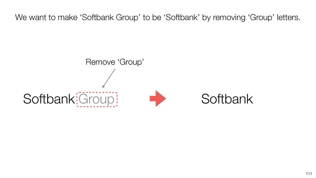 111 Softbank Group Softbank Remove 'Group' We w...