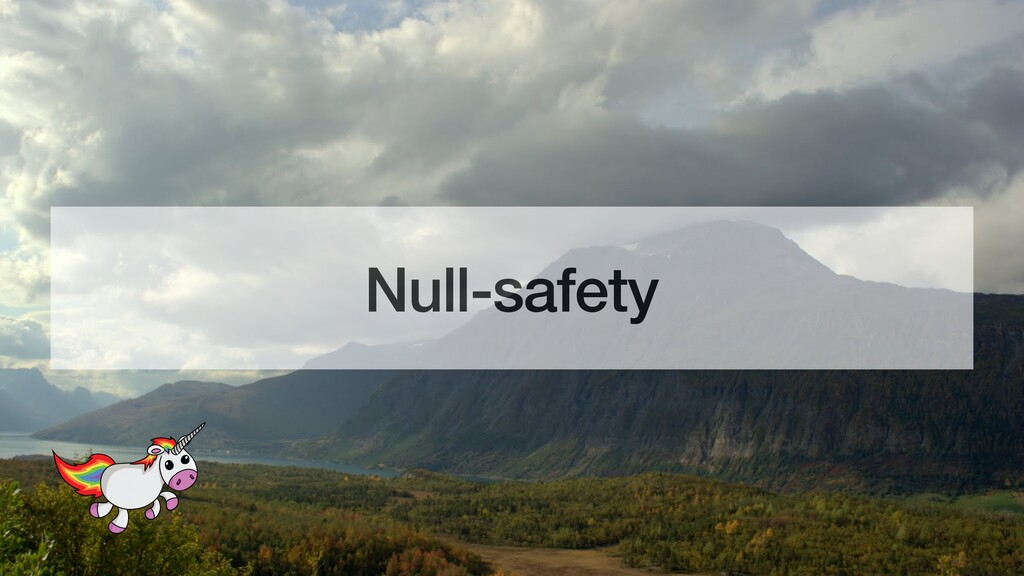 Null-safety