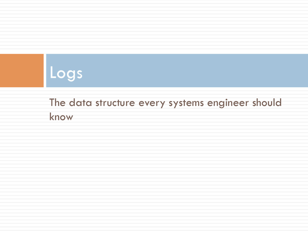 The data structure every systems engineer shoul...