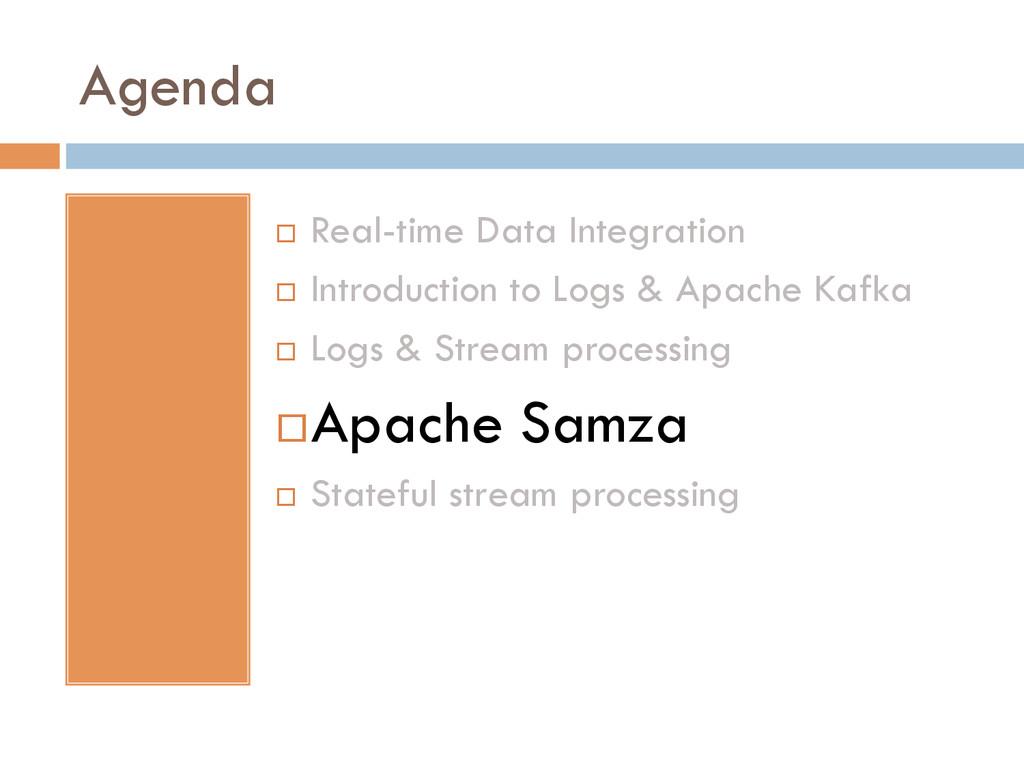 Agenda ¨ Real-time Data Integration ¨ Intro...