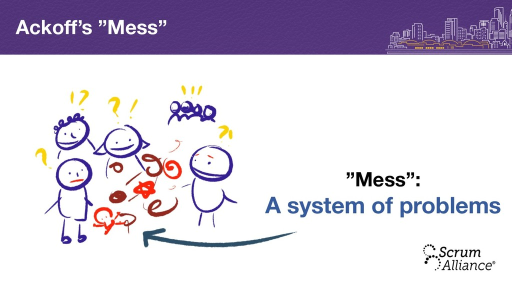 "Ackoff's ""Mess"" ""Mess"": A system of problems"