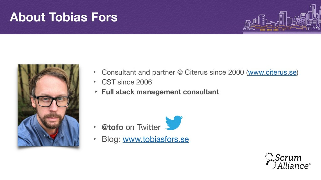 ‣ Consultant and partner @ Citerus since 2000 (...