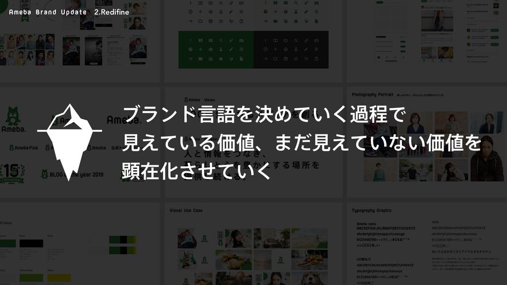 Ameba Brand Update ϒϥϯυݴޠΛܾΊ͍ͯ͘աఔͰ ݟ͍͑ͯΔՁɺ·ͩݟ...