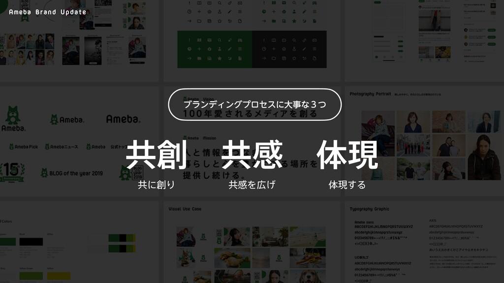 Ameba Brand Update ڞײ ϒϥϯσΟϯάϓϩηεʹେͳ̏ͭ ڞ ମݱ ڞ...