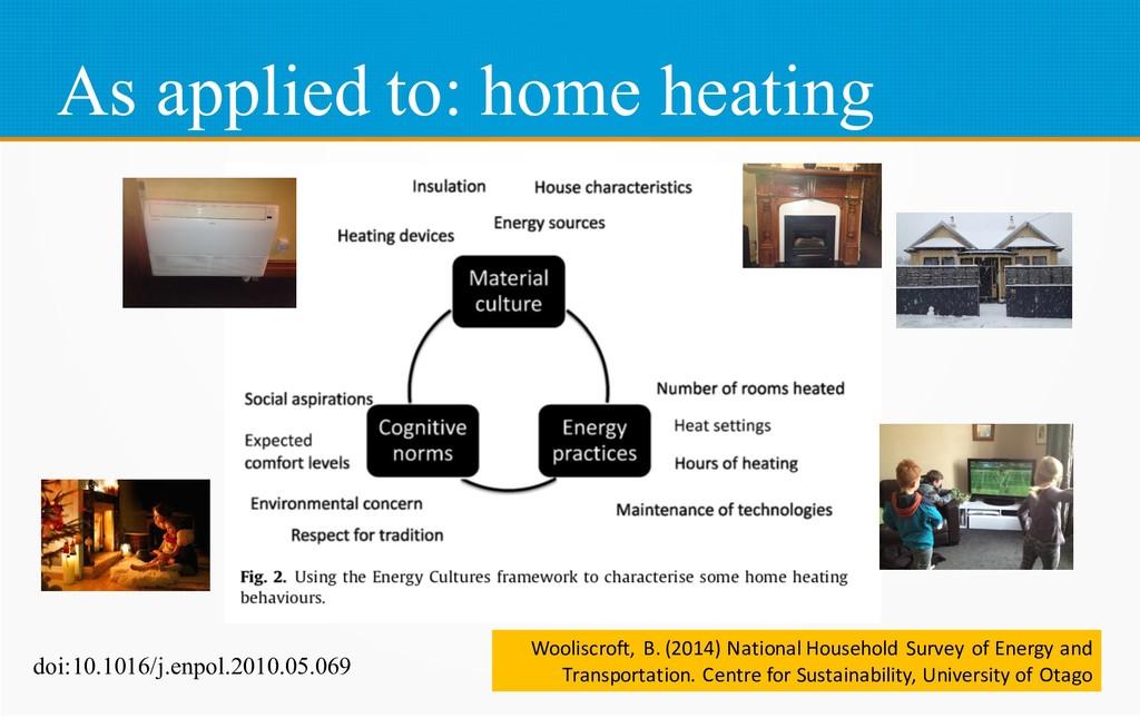 As applied to: home heating doi:10.1016/j.enpol...