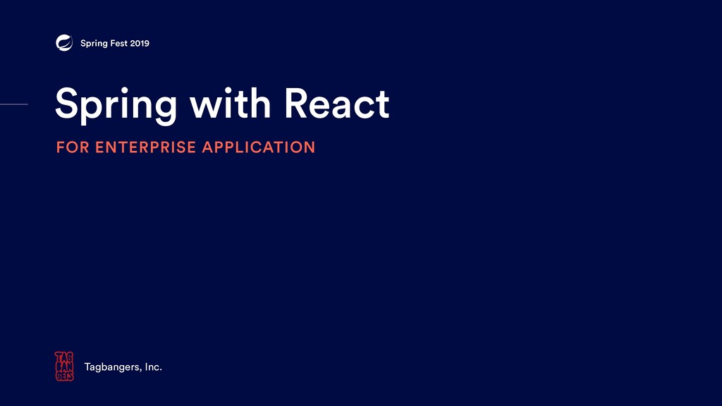 Spring with React FOR ENTERPRISE APPLICATION Ta...