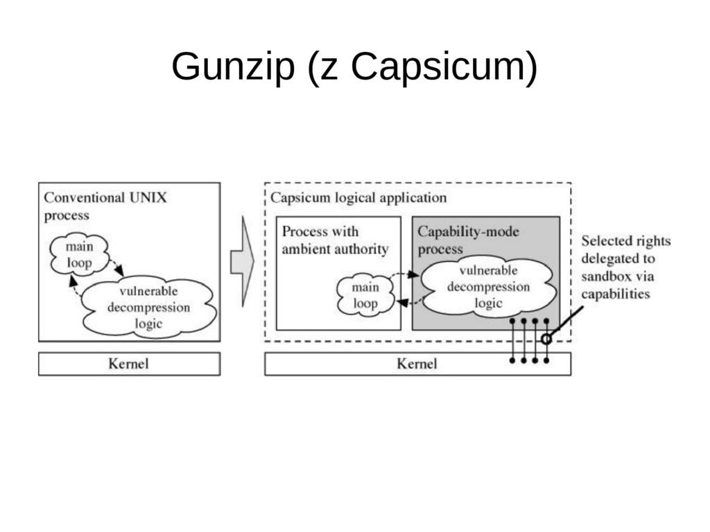 Gunzip (z Capsicum)