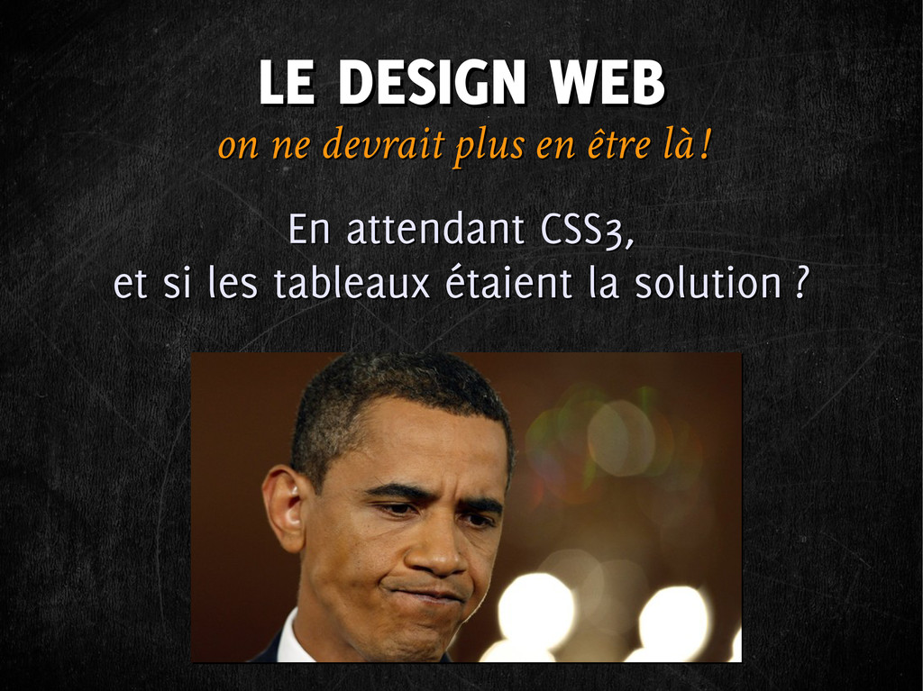 LE DESIGN WEB LE DESIGN WEB on ne devrait plus ...