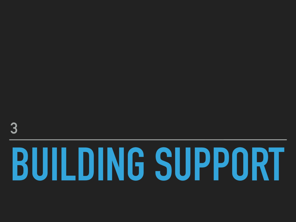 BUILDING SUPPORT 3