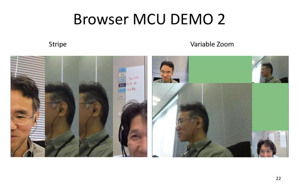 Browser MCU DEMO 2 22 Stripe Variable Zoom