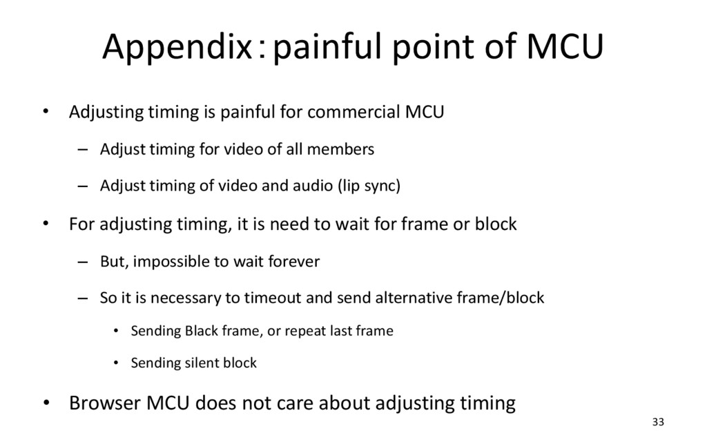Appendix:painful point of MCU • Adjusting timin...