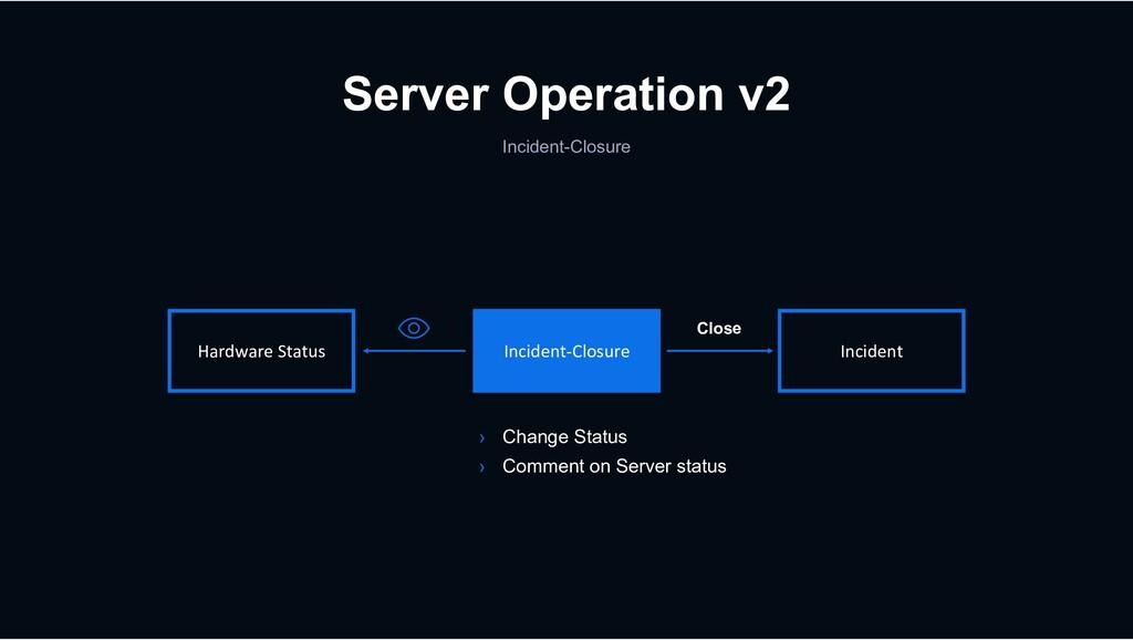 Server Operation v2 Hardware Status Incident-Cl...