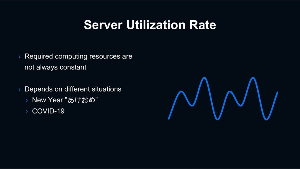 Server Utilization Rate › Required computing re...