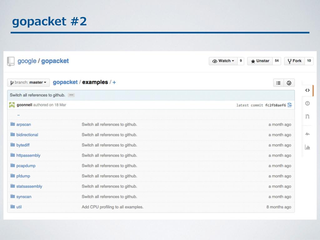 gopacket #2