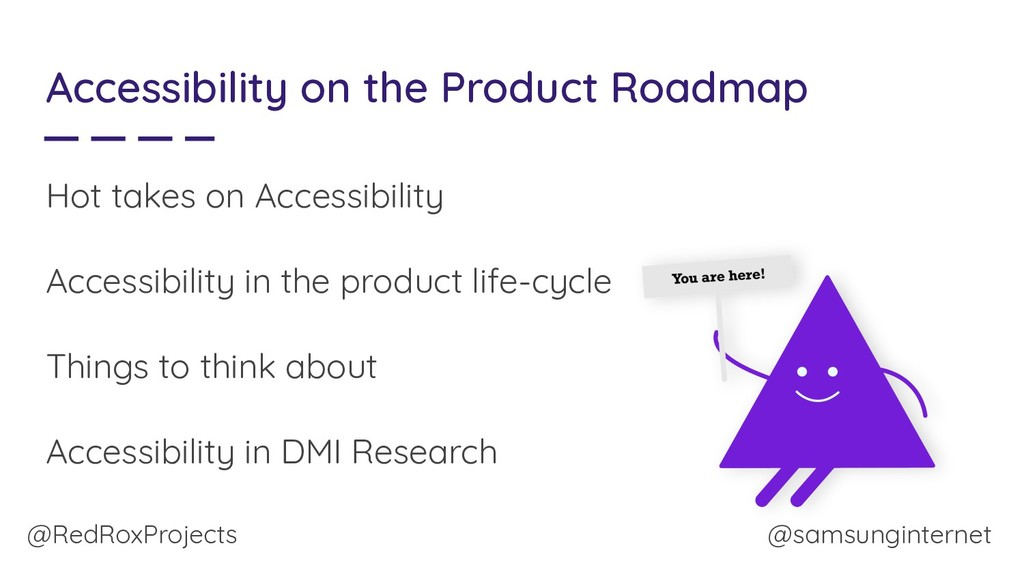 @RedRoxProjects Accessibility on the Product Ro...