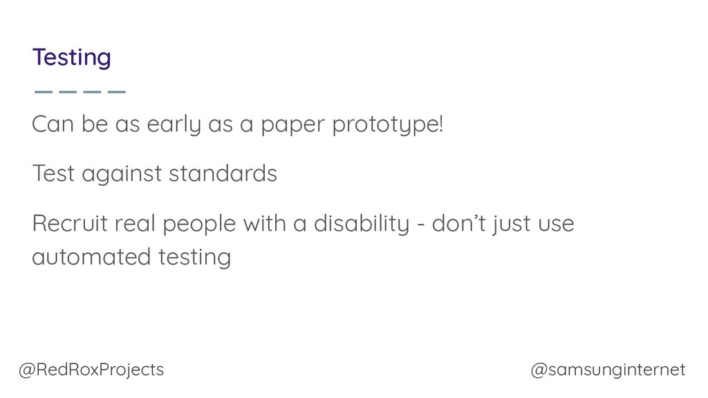 @RedRoxProjects @samsunginternet Testing Can be...