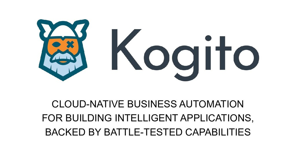 CLOUD-NATIVE BUSINESS AUTOMATION FOR BUILDING I...