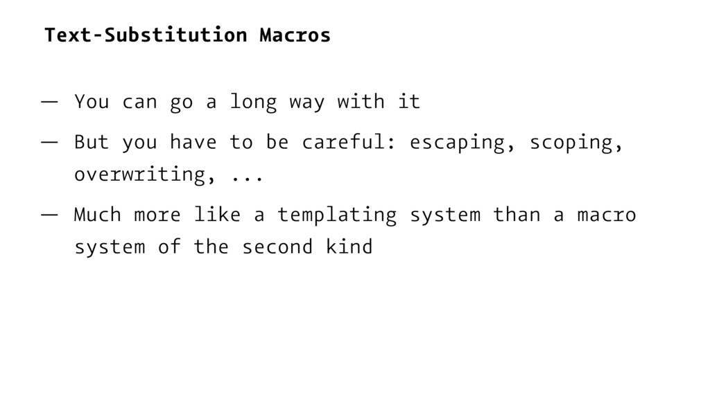 Text-Substitution Macros — You can go a long wa...