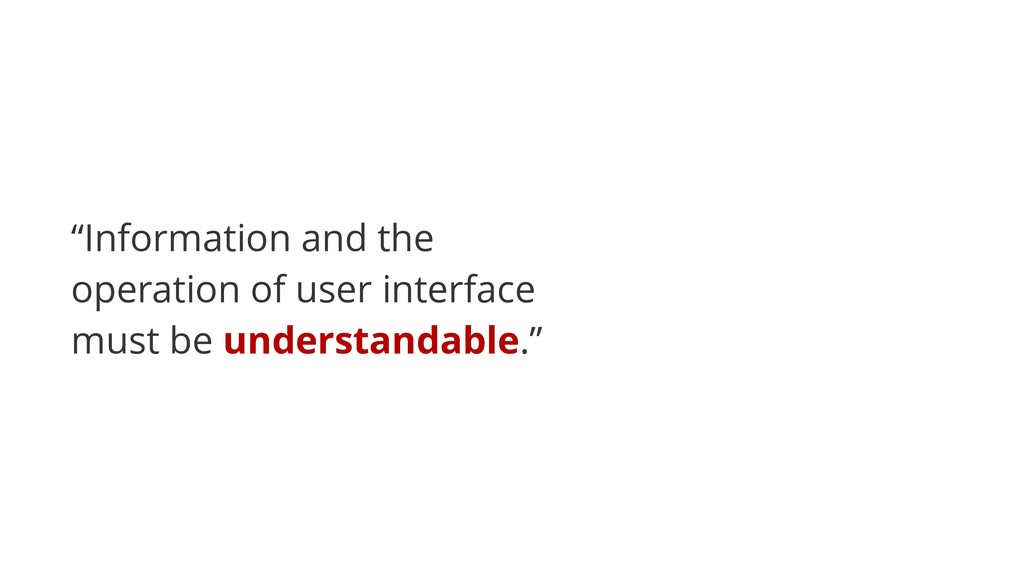 """""""Information and the operation of user interfac..."""