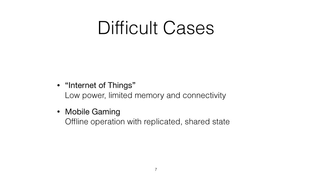 "Difficult Cases • ""Internet of Things""