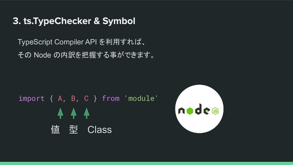 TypeScript Compiler API を利用すれば、 その Node の内訳を把握す...