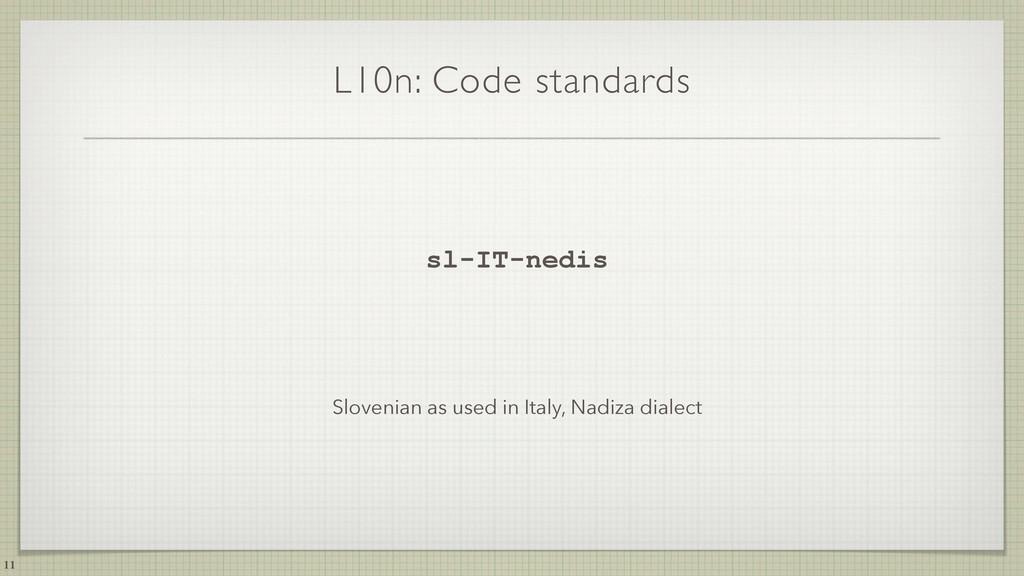 L10n: Code standards sl-IT-nedis Slovenian as u...