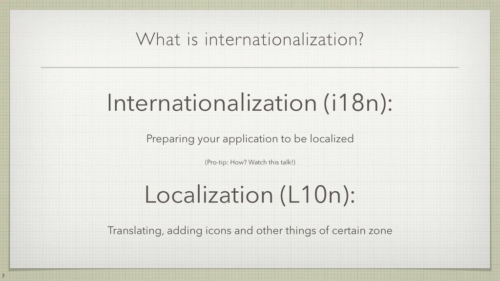 What is internationalization? Internationalizat...