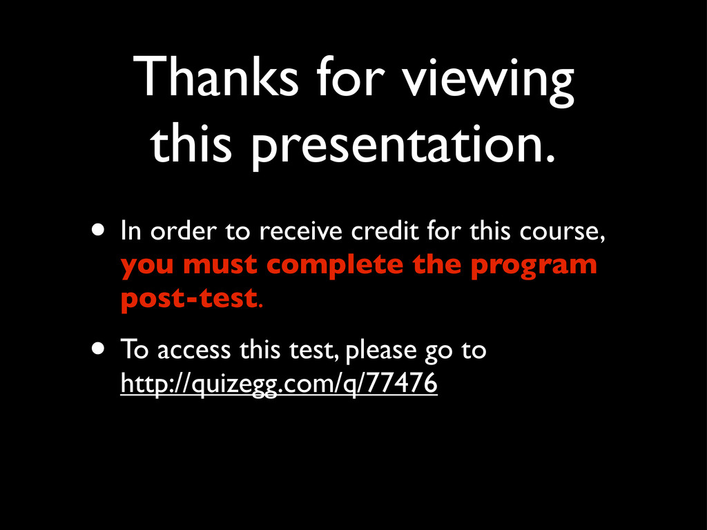 Thanks for viewing this presentation. • In orde...